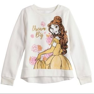 NWT Belle Dream Big Crew Neck Sweatshirt, Size 5